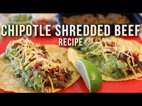 Chipotle Shredded Beef Recipe - Meal Prep Ideas