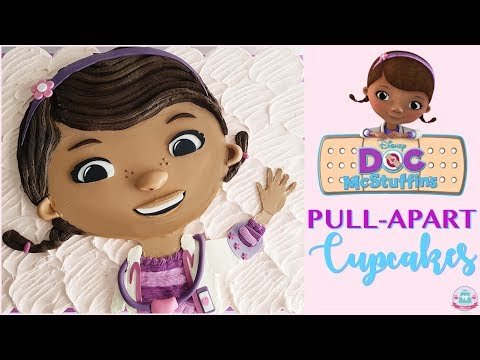 DOC McSTUFFINS PULL-APART CUPCAKES TUTORIAL | Abbyliciousz The Cake Boutique