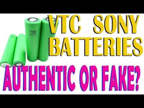 Tutorial: Riconoscere batterie Sony VTC false da vere -  VTC Sony: Fake or Real?