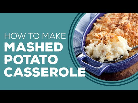 Paula Deen's Mashed Potato Casserole - Blast from the Past