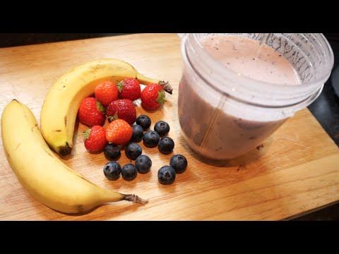 Healthy Strawberry Smoothie Recipe