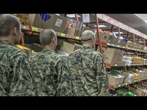 'Department Store' for Marine Recruits: Shopping at Recruit Exchange Parris Island