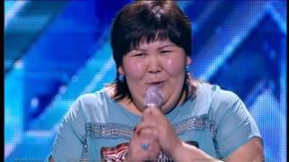 Гульзат Ескалиева. X Factor Казахстан. Прослушивания. Вторая Серия. Пятый сезон.