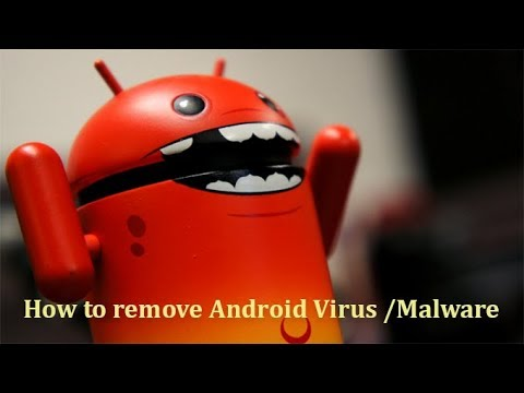How to remove virus from android mobile