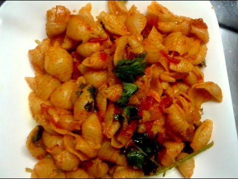 Macroni in indian style | Easy and tasty Pasta variety