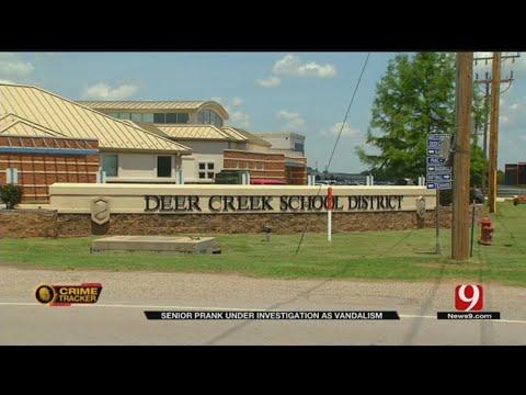 Deer Creek HS Senior Prank Being Investigated As Vandalism