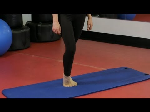 Exercise for Inside of the Calf : Working Out the Body