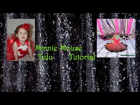 How to Make a Minnie Mouse Tutu No Sew