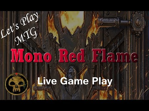 Let's Play MTG: Mono Red Flame from Pro Tour Dominaria Standard!