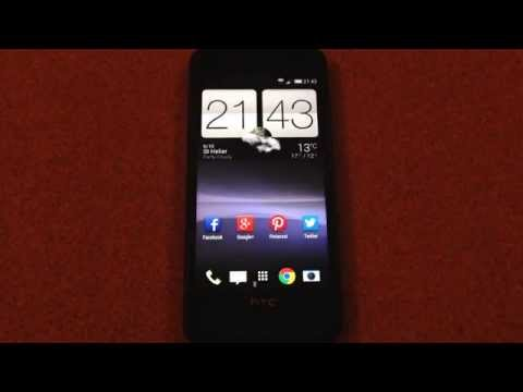 How to change HTC One home screen wallpaper