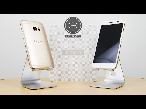 HTC 10 Unboxing - Gold Topaz