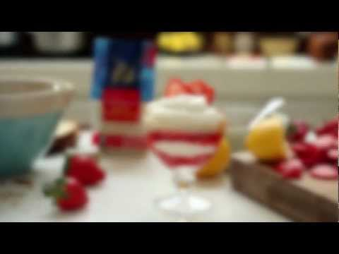 Strawberries & Cream Trifle recipe using Tate & Lyle's Golden Syrup Sugar