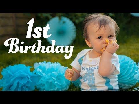 Nathan's 1st Birthday & Cake Smash! || The Oxleys Daily Vlog