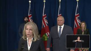 Premier Ford provides a COVID-19 update | May 25
