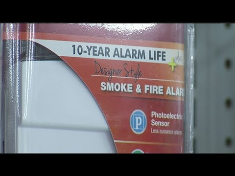 Check your smoke detectors' batteries when you adjust your clocks