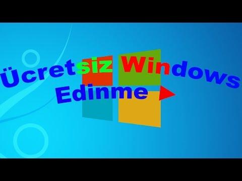 Windows 8.1 Ücretsiz Orjinal Sürümü [Öğrenciler İçin]