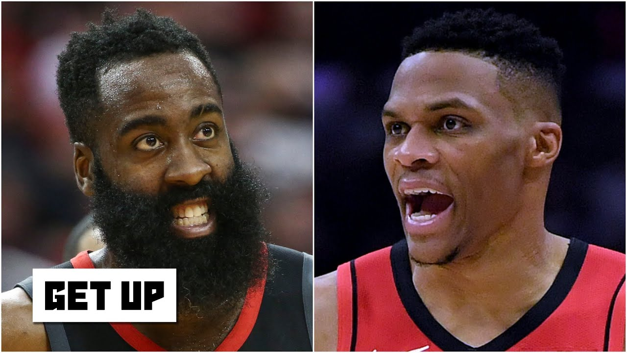 Discussing James Harden and Russell Westbrook trade scenarios | Get Up