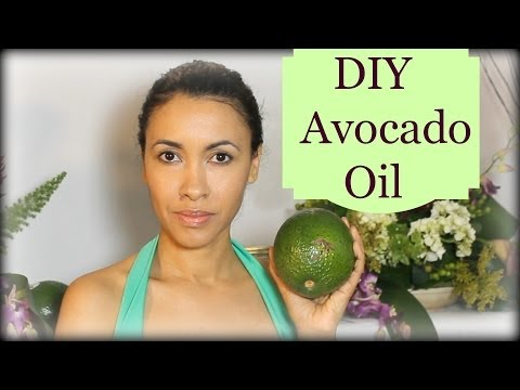 DIY Avocado Oil for skin and hair by Birmabb