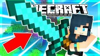 GIANT OP MINECRAFT SWORD CHALLENGE! (Minecraft Bed Wars)