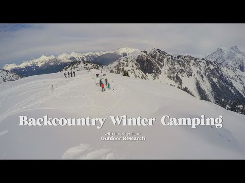 How To Build A Backcountry Winter Campsite
