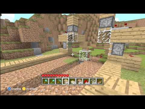 How to Make An Advanced Automatic Wheat Farm-Minecraft Xbox 360 Edition