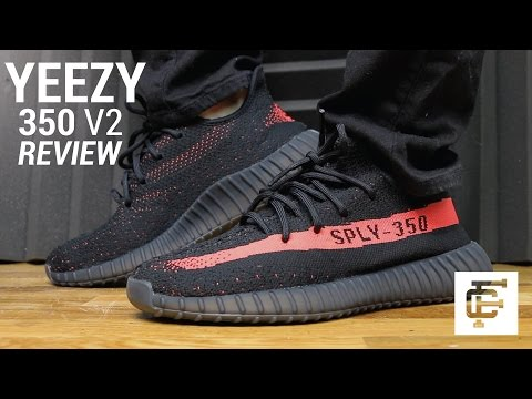 5a2f05a17 YEEZY BOOST 350 V2 BLACK RED REVIEW - White Black Red Yeezy