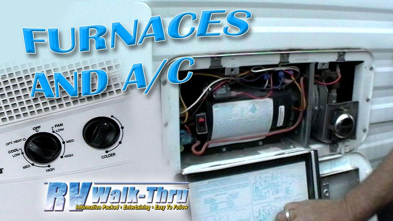 RV Furnaces and AC - Learn about your RV Furnace & Air Conditioning