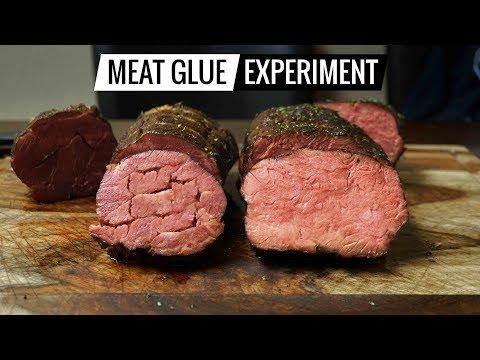 Sous Vide MEAT GLUE Experiment