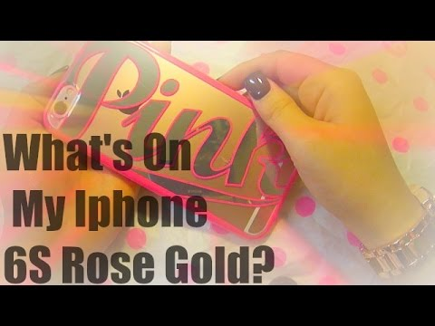What is on my Iphone 6s Rose Gold