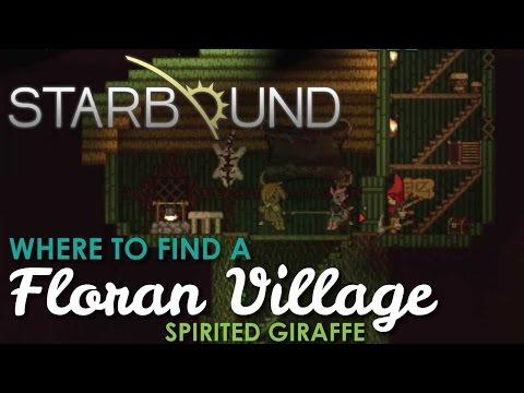 Where to find a Floran Village, Starbound Spirited Giraffe