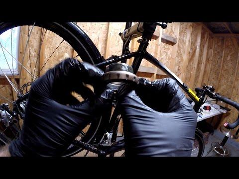 How To Install External Bearing Bottom Bracket FSA BB386 MegaEvo Bike Blogger