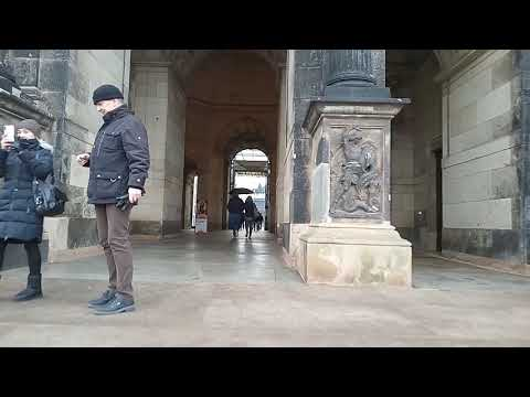 First Person Travel Experience - Germany - Dresden part 1 -  DJI Osmo Mobile 2 & Xiaomi Redmi 6