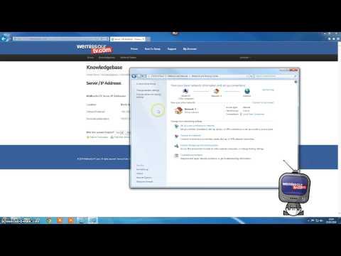 How To Setup DNS for Windows 7
