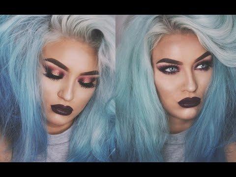 VAMPY FALL GLAM Makeup Tutorial | Naomi Jonzeck