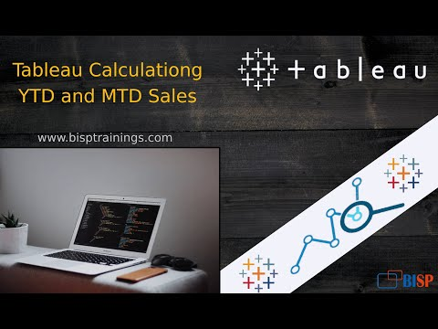 Tableau YTD,MTD and Previous Yeat YTD Calculation