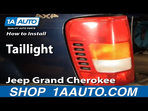 How To Install Replace Taillight Jeep Grand Cherokee 99-04 1AAuto.com