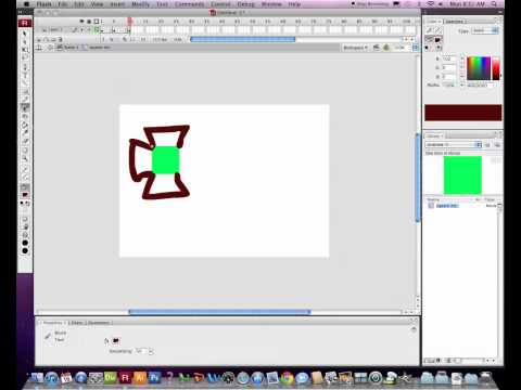 Making a movie clip symbol in Flash CS3