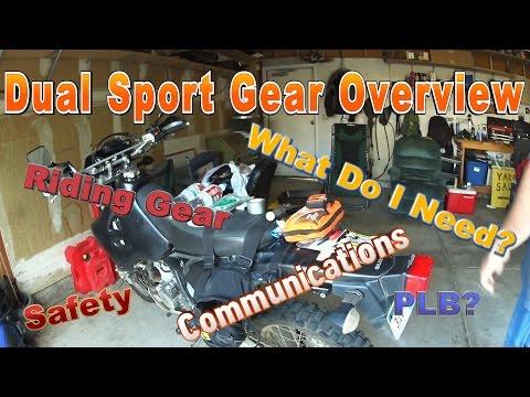 Dual Sport Gear Overview
