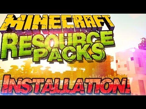 Minecraft 1.11 Resource Packs Installieren  Texture Packs & Sound Packs |German Deutsch Mac Win