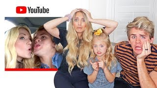 Reacting To Our First Ever Youtube Video... This Was So Embarrassing!!!