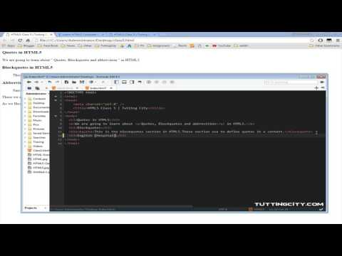 HTML5 Complete Course Class 5 by Usama Rehman