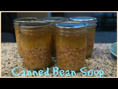 CANNED BEAN SOUP