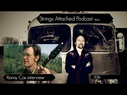 Strings Attached Podcast Ronny Cox Interview 2016