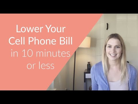 How to Lower Your Cell Phone Bill