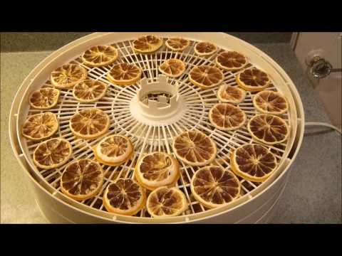 How to Dehydrate Lemons