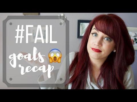 GOALS FAIL | March & April Recap | May & June New