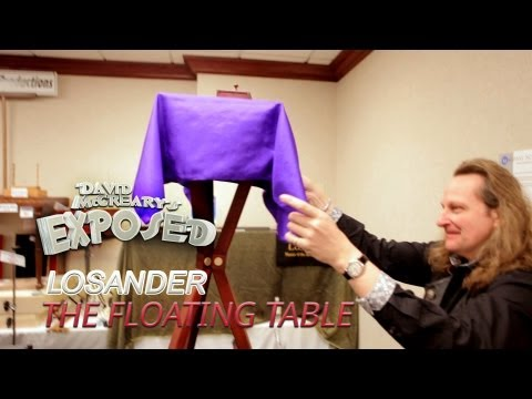 Losander and the Original Floating Table Trick - David McCreary's Exposed Ep.7
