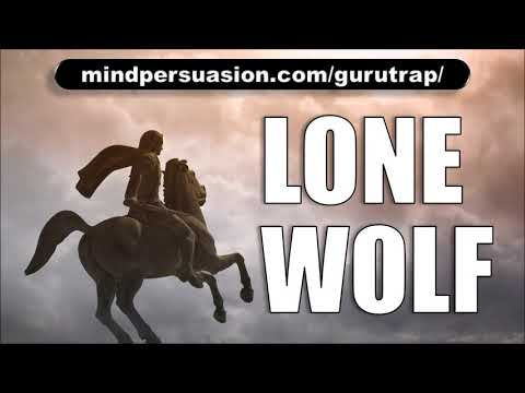 Lone Wolf - Become A Solitary Conqueror Of Life - Subliminal Affirmations
