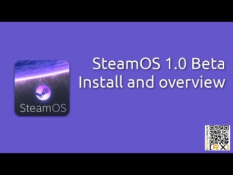 SteamOS 1.0 Beta Install and overview | Build your own Steam Machine [HD]