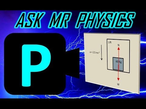 Ask Mr Physics Accelerating Lift Forces